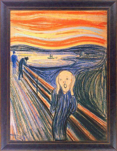 DIETZ-GICLÉE: Edvard Munch
