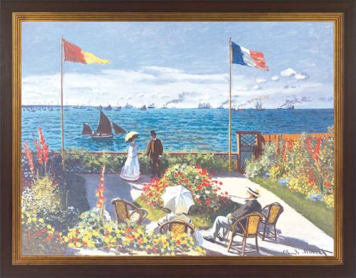 "Claude Monet ""Garten in Sainte-Adresse"""