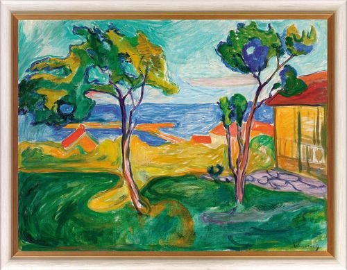 "Edvard Munch ""Der Garten in Asgardstrand"""