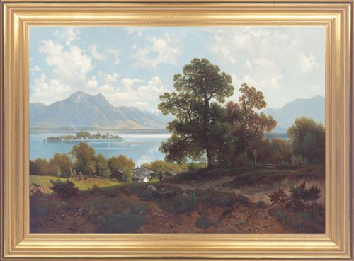 "Ludwig Sckell ""Am Chiemsee"""