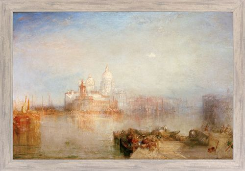"William Turner ""Dogana und Santa Maria della Salute, Venedig"""